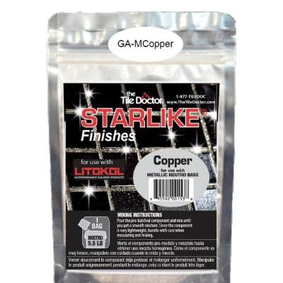 Starlike Finishes Epoxy Grout Additive - Copper Metallic Collection 100 g (1-Pack)