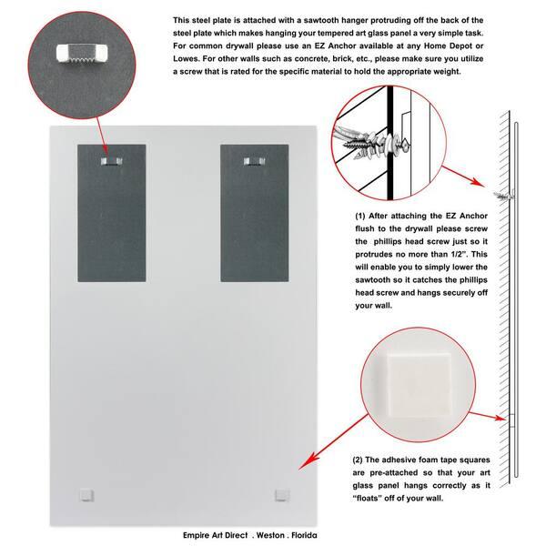 Wallpad Einzel Gehärtetem Glas Panel Nur 86 86mm Weiß Und Schwarz Runde Kreis Glas Edelstahl Pc Panel