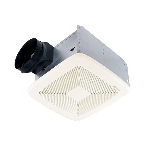 Broan Nutone Qt Series Quiet 150 Cfm Ceiling Bathroom Exhaust Fan Energy Star Qtxe150 The Home Depot