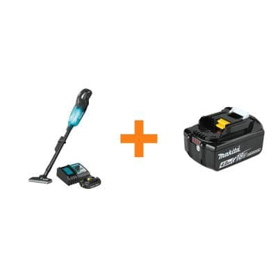 18-Volt LXT Lithium-ion Compact Handheld Brushless Cordless 3-Speed Vacuum Kit, with bonus 18-Volt 4.0Ah LXT Battery