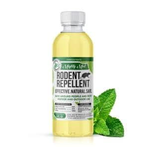 8 oz. Peppermint Rodent Repellent Concentrate Makes 1 Gal. Natural Spray for Rats, Mice and More - Non Toxic