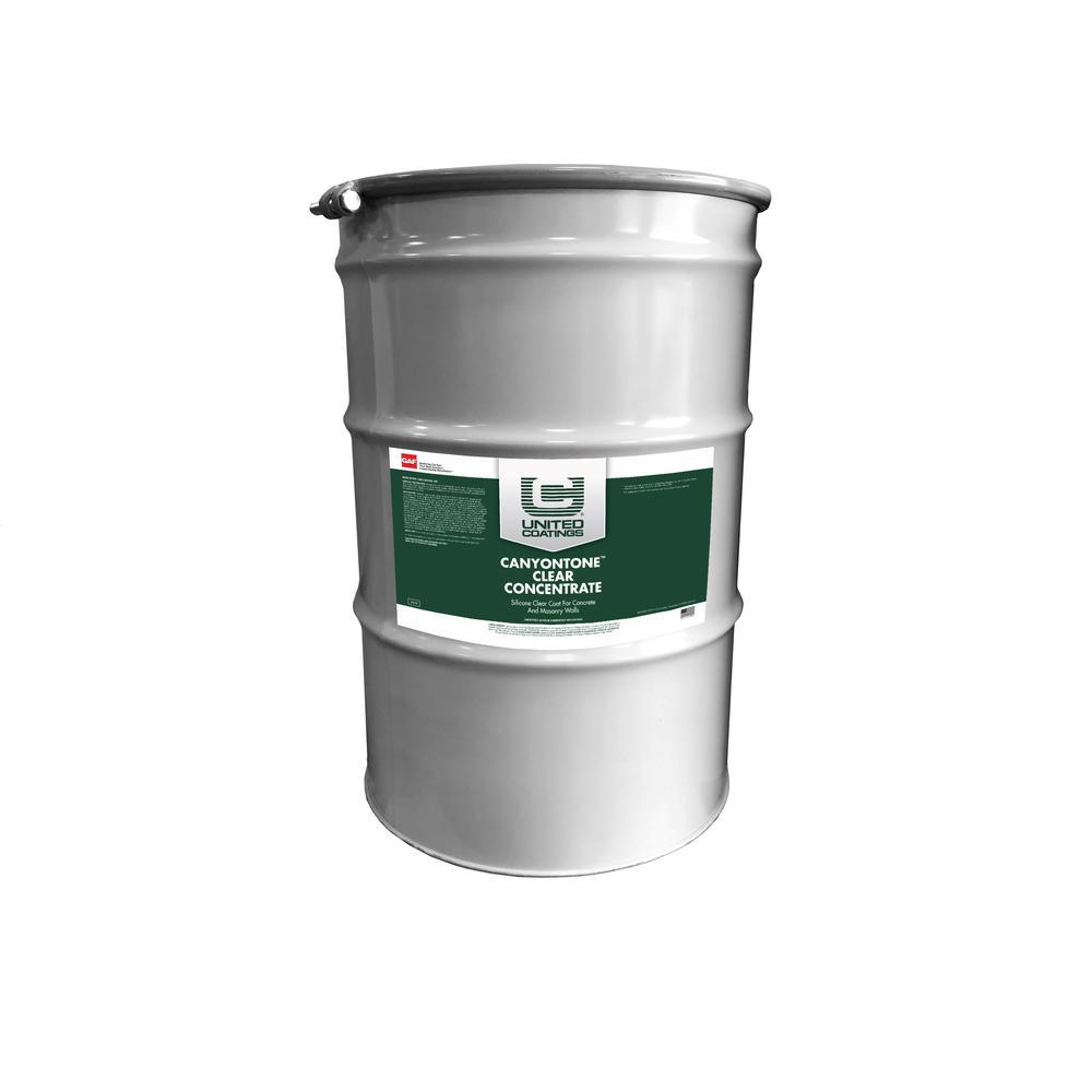 CanyonTone 55 gal. Clear Wall Coating Masonry Paint Sealer