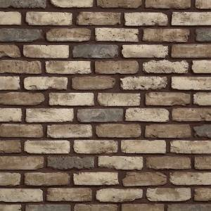 Old Chicago Cafe 8.20 in. x 2.50 in. Thin Brick 10.76 sq. ft. Flats Manufactured Stone Siding