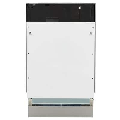 """18"""" Compact 3rd Rack Top Control Dishwasher in Custom Panel Ready with Stainless Steel Tub, 51dBa"""