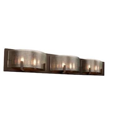 Firefly 6-Light Bronze Bath Light