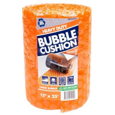 5/16 in. x 12 in. x 25 ft. Perforated Bubble Cushion Wrap