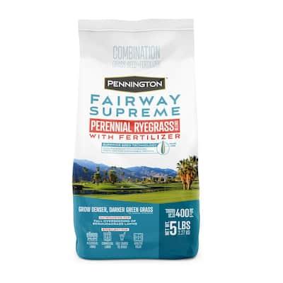 5 lbs. Fairway Supreme Perennial Ryegrass Blend