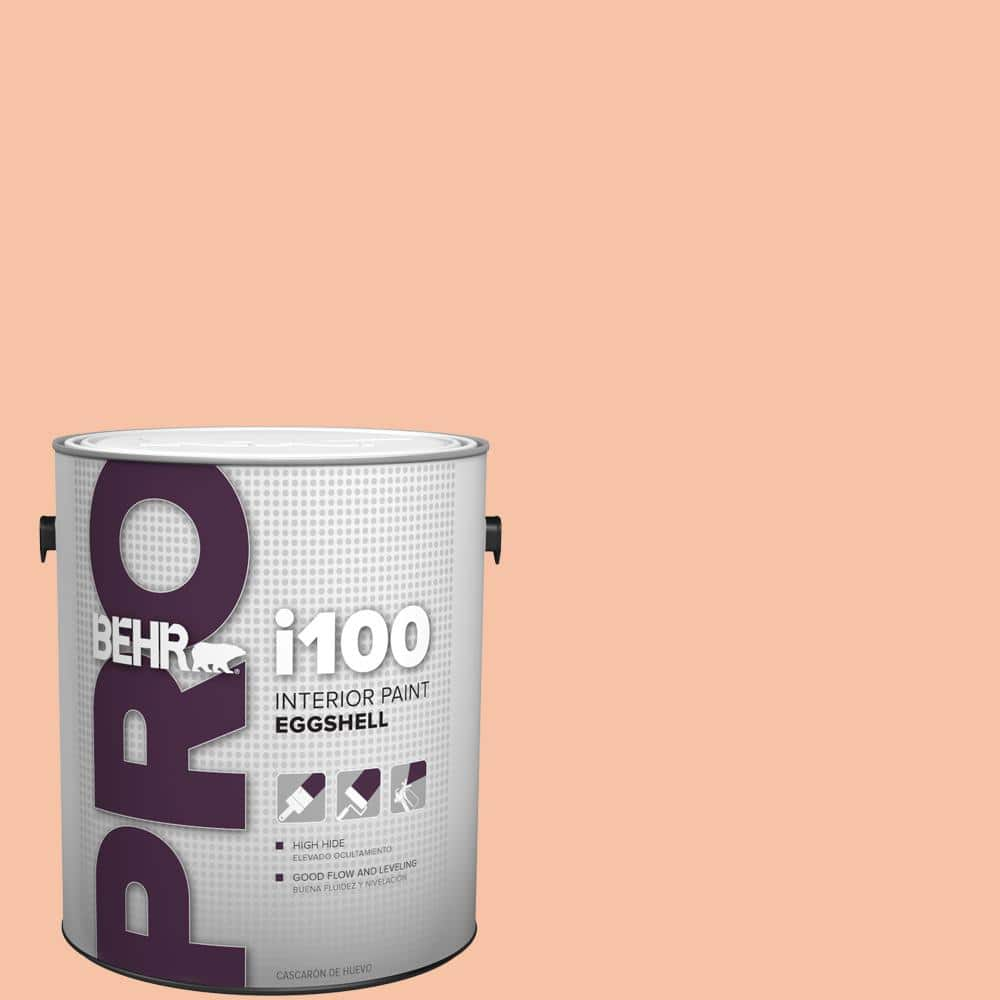 Behr Pro 1 Gal 230c 3 Pink Beach Eggshell Interior Paint Pr13001 The Home Depot