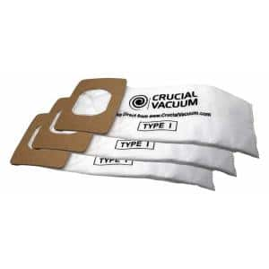Type I Vacuum Bags Replacement for Hoover Part AH10005 (2-Pack)