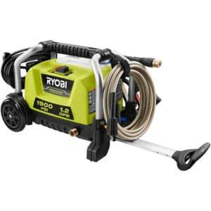 1900 PSI 1.2 GPM Cold Water Wheeled Electric Pressure Washer