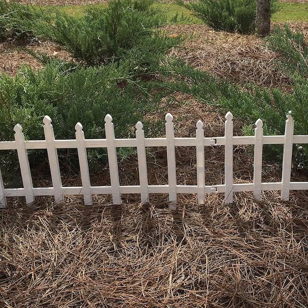 9cm Deco Mini Gardening VBS wood fence picket Mini 16 Piece 10,5x1