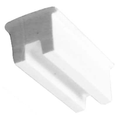 1/2 in. x 1 in. x 1 in. Rubber Setting Glass Block