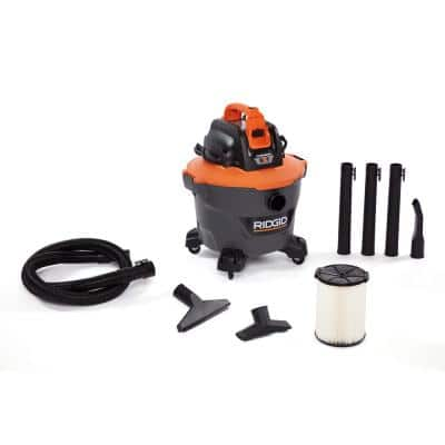9 Gal. 18-Volt Cordless Wet/Dry Shop Vacuum (Tool Only) with Filter, Hose and Accessories