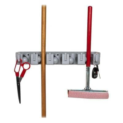 16-1/2 in. Wall Rack Tool Cleaning Organizer