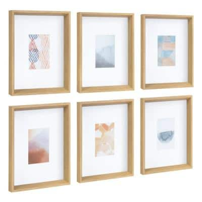 """Calter """"Abstract"""" Framed Print Wall Art Set 12.5 in. x 15.5 in."""