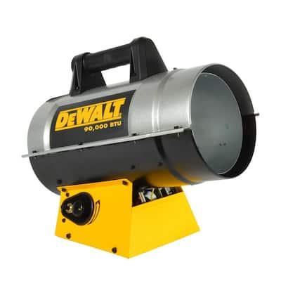 90,000 BTU Forced Air Propane Heater