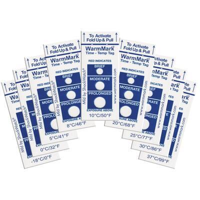 Warmmark 5C/41F Temperature Indicator (10 Pack)