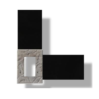 5.25 in. x 7.25 in. Stone Outlet Box in Brownstone (Each)
