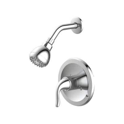 Impressions Collection Single-Handle Shower Trim Kit in Chrome (Valve Not Included)