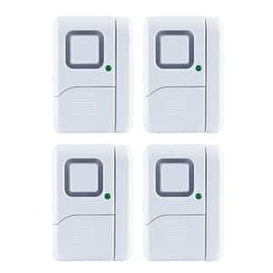 Magnetic Window and Door Alarms (4-Pack)