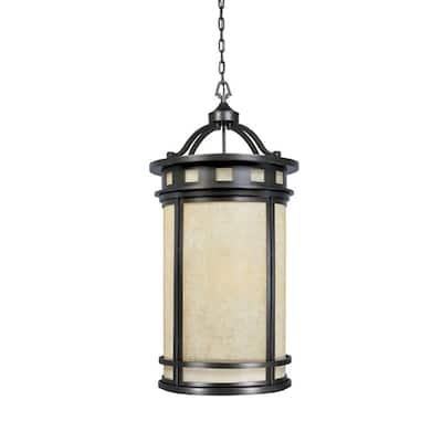 Sedona 4-Light Oil Rubbed Bronze Outdoor Hanging Foyer Light