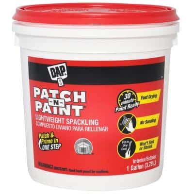 Patch-N-Paint 1 gal. White Lightweight Spackling (2-Pack)