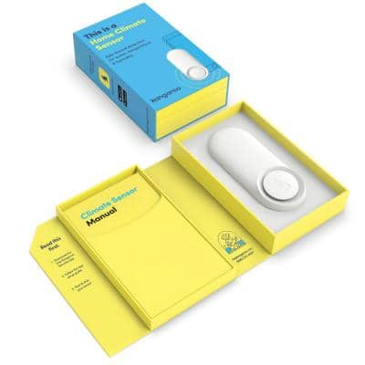 Water and Climate Sensor Leak Detector Kit