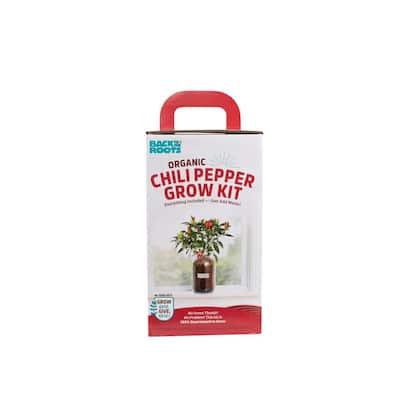 Windowsill Organic Chili Pepper Grow Kit
