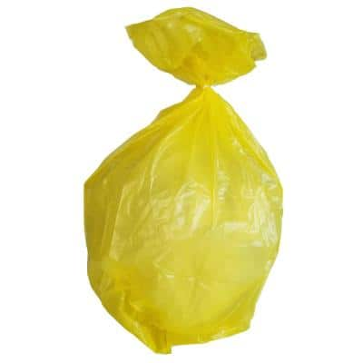33 Gal. 1.5 mil 33 in. H x 39 in. W Yellow Trash Bags (100-Count, 112-Cases per Pallet)