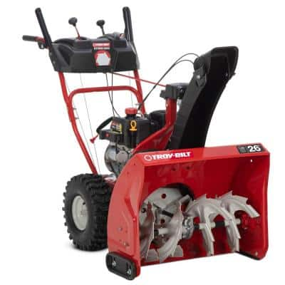 Storm 26 in. 208 cc Two- Stage Gas Snow Blower with Electric Start Self Propelled