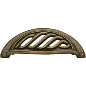 Charleston Blacksmith 3 in. Windover Antique Cup Center-to-Center Pull