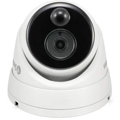 1080P PIR Wired Dome Security Surveillance Camera with 50 ft. of Night vision
