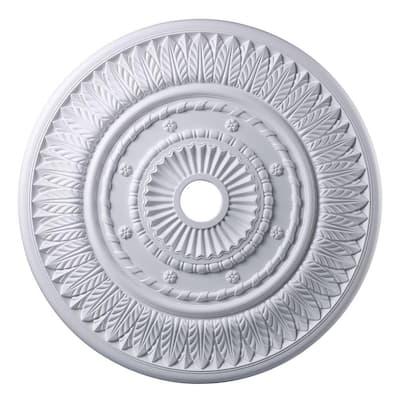 Corinna 33 in. White Ceiling Medallion