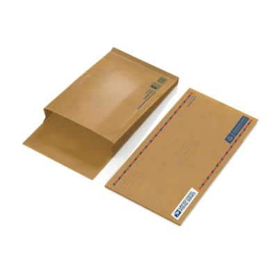 USPS 19 in. x 10.5 in. x 0.1 in. Paper Gusseted Mailer