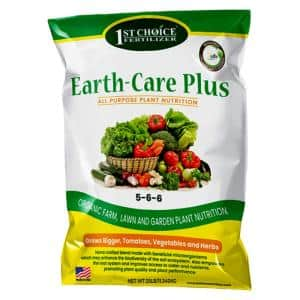 Earth-Care Plus 5-6-6 25 lbs. 2,500 sq. ft. Slow Release Organic All Purpose Plant Nutrition