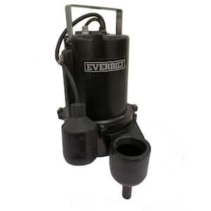 3/4 HP Sewage Ejector Pump
