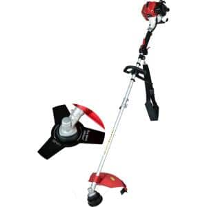 25.4 cc 2 Stroke Gas String Strimmer and Brush Cutter