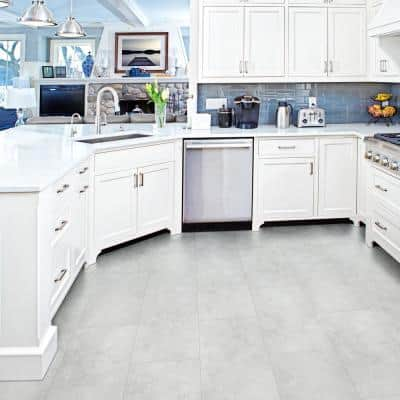 Mountains Gray 12 in. W x 24 in. L Rigid Core Click Lock Luxury Vinyl Tile Flooring (54 cases/1255.50 sq. ft./pallet)