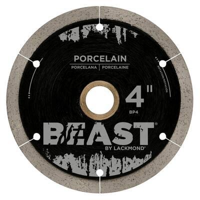 4 in. Reinforced Hub Hard Porcelain Blade 0.050 x 7/8 in.-20 mm-5/8 in. Wet