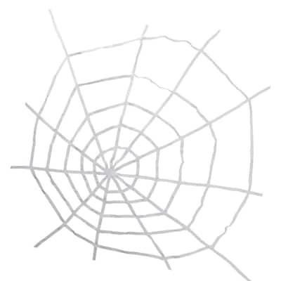 80 in. White Spider Web Halloween Decoration