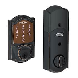 Camelot Aged Bronze Sense Smart Door Lock