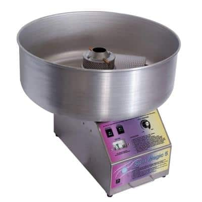 Spin Magic 5 Stainless Steel Countertop Cotton Candy Machine
