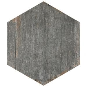 Retro Hex Cendra 14-1/8 in. x 16-1/4 in. Porcelain Floor and Wall Tile (48 Cases/530.4 sq. ft./Pallet)