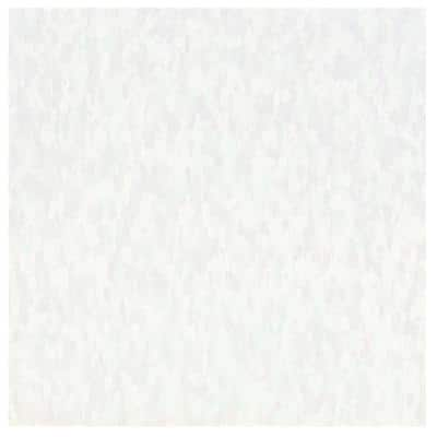Imperial Texture VCT 12 in. x 12 in. White Out Standard Excelon Commercial Vinyl Tile (45 sq. ft. / case)