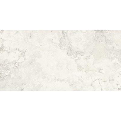 Seabrook Blanco 12 in. x 24 in. Matte Porcelain Floor Tile (11.57 sq. ft./ carton)
