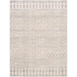 Haruhi Taupe 6 ft. 7 in. x 9 ft. Area Rug