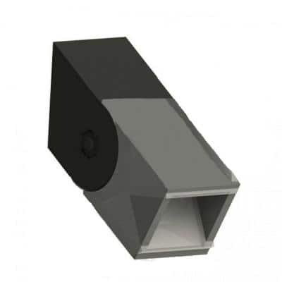 Railing Stair/Angle Bracket Hardware Kit (4-Pack)