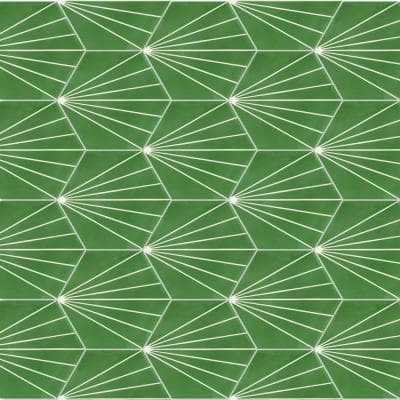 Spark C Monte Verde 8 in. x 9 in. Cement Handmade Floor and Wall Tile (Box of 16 / 5.926 sq. ft.)