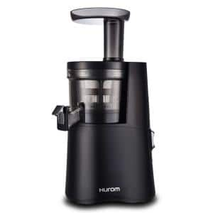 H-AA 16.9 fl. oz. Matte Black Slow Juicer with Slow Squeeze Technology