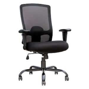 Zabrina Black Mesh Fabric Chair